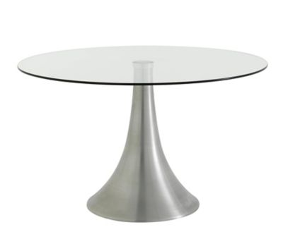 Table ronde pied central fly cheap table ronde avec - Table jardin d eveil bilingue chicco reims ...