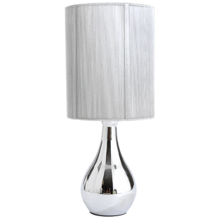 FLY-lampe sensitive h42cm argent