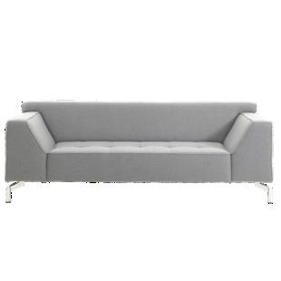canape fixe 3 places tissu coloris gris canap fixe cat gories canap fly. Black Bedroom Furniture Sets. Home Design Ideas