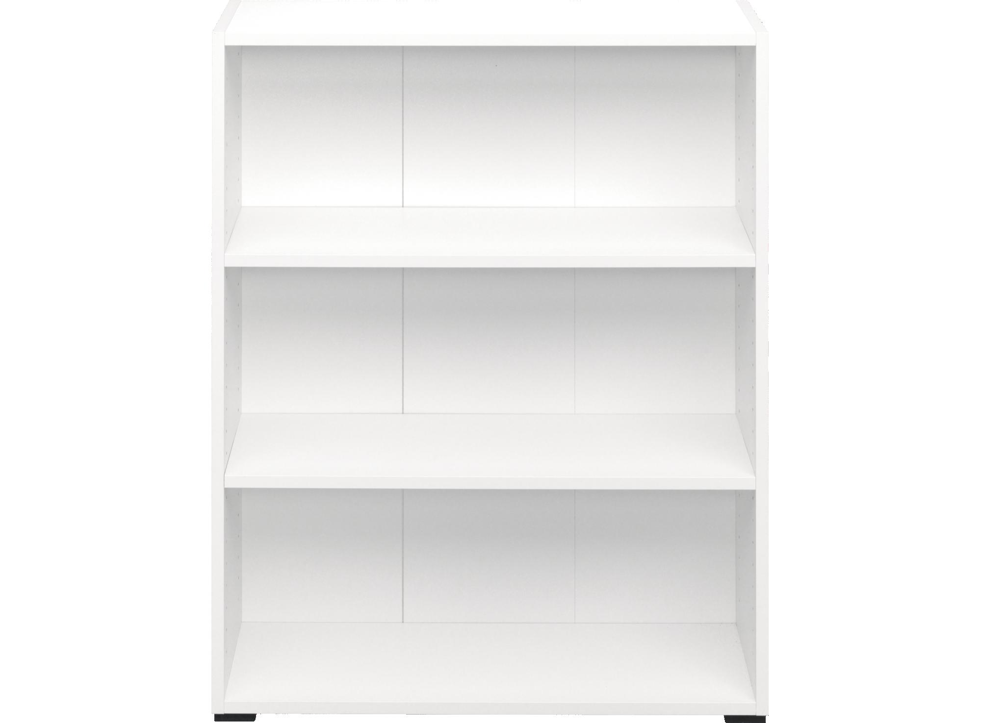 Bibliotheque 2 tablettes. en panneaux de particules. dos en panneaux ...