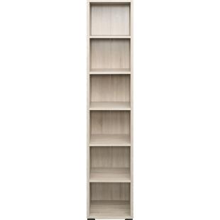 FLY-bibliotheque 40x196x36 cm chene