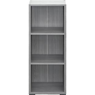 FLY-bibliotheque 40x100x28 cm chene argente