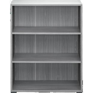 FLY-bibliotheque 80x100x28 cm chene argente