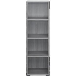 FLY-bibliotheque 40x132x28 cm chene argente