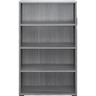 FLY-bibliotheque 80x132x28 cm chene argente