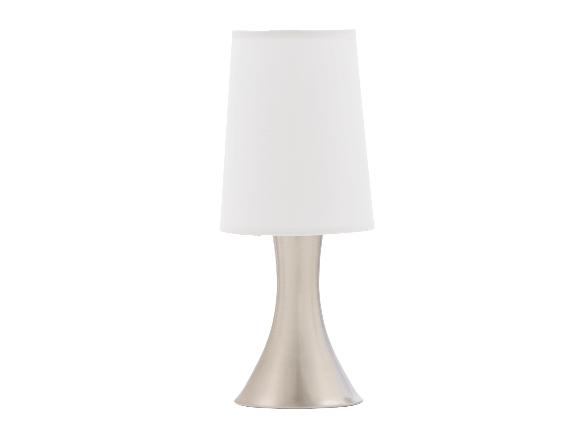 lampe chrome blanc fly On lampe salon fly