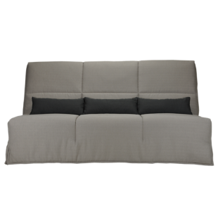 FLY-banquette clic clac bultex gris clair/anthracite