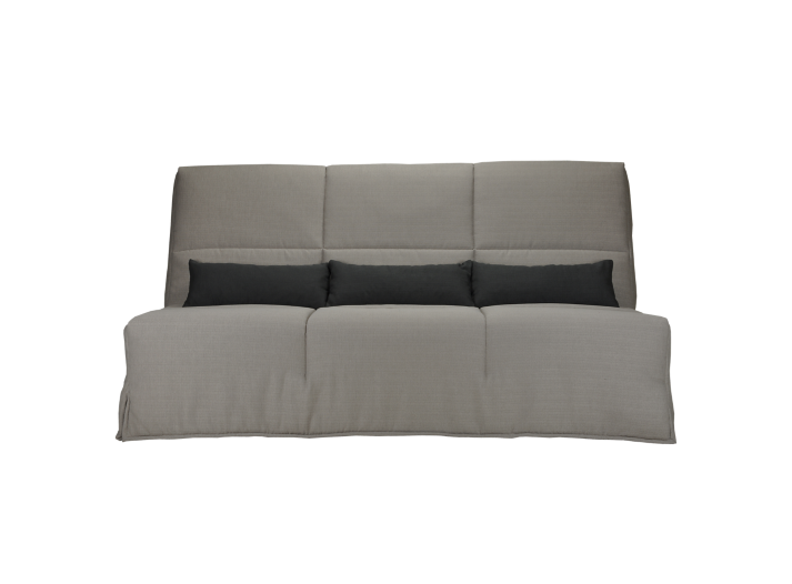 banquette clic clac bultex gris clair anthracite fly. Black Bedroom Furniture Sets. Home Design Ideas