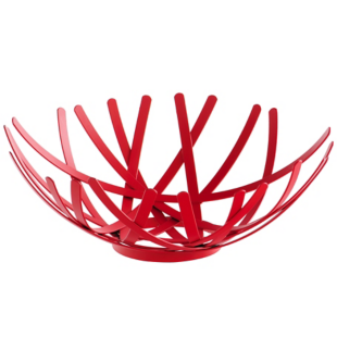 FLY-coupe decorative d18cm rouge