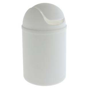 FLY-poubelle couvercle a bascule 5 l blanc