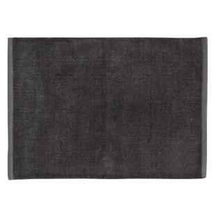 FLY-tapis de salle de bain en coton 70x50 anthracite