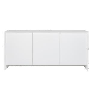 FLY-bahut 3 portes blanc