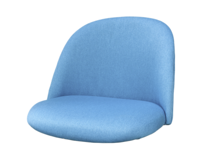 ally coque chaise tissu turquoise | Fly