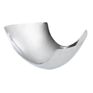 FLY-coupe decorative en aluminium 31x19 cm argent