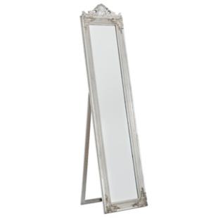 FLY-miroir sur pied 45x180 cm argent