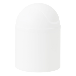 FLY-poubelle couvercle a bascule 4 l blanc