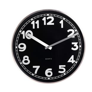 FLY-horloge diam. 40 cm noir