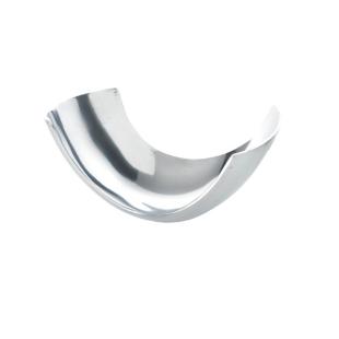 FLY-coupe decorative en aluminium 18x10 cm argent