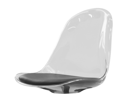 bonni coque chaise transparente | Fly