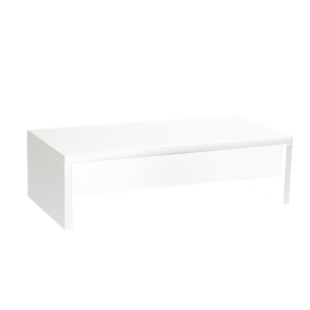 FLY-table basse plateau relevable coloris blanc