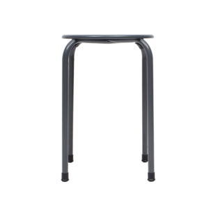 FLY-tabouret gris anthracite