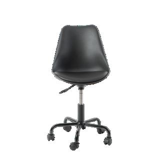 FLY-chaise de bureau pu noir