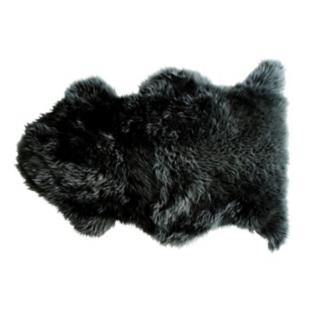 FLY-tapis laine peau de mouton 75x110 gris