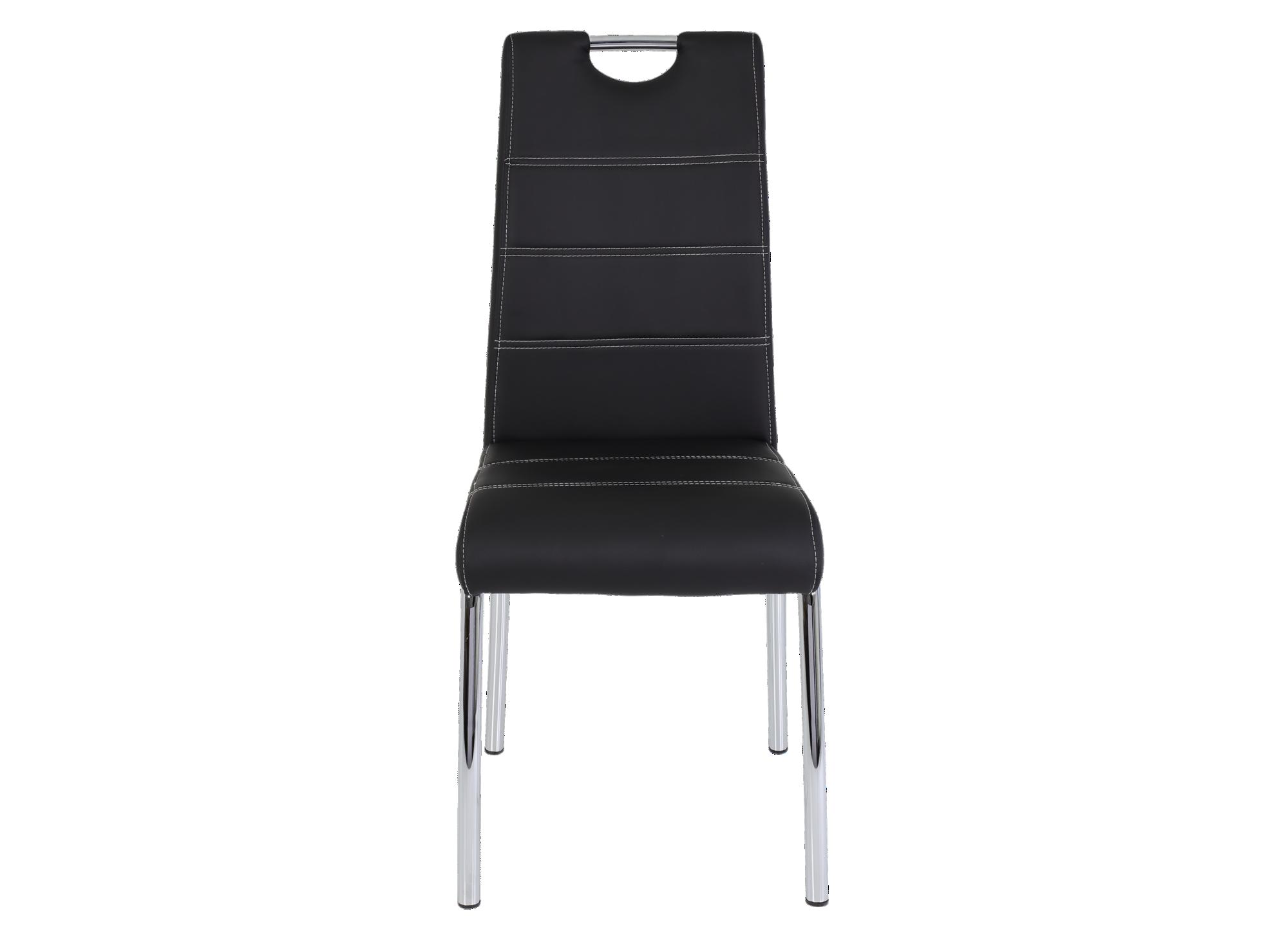 Chaise structure en metal assise en panneaux de particules garnissage ...