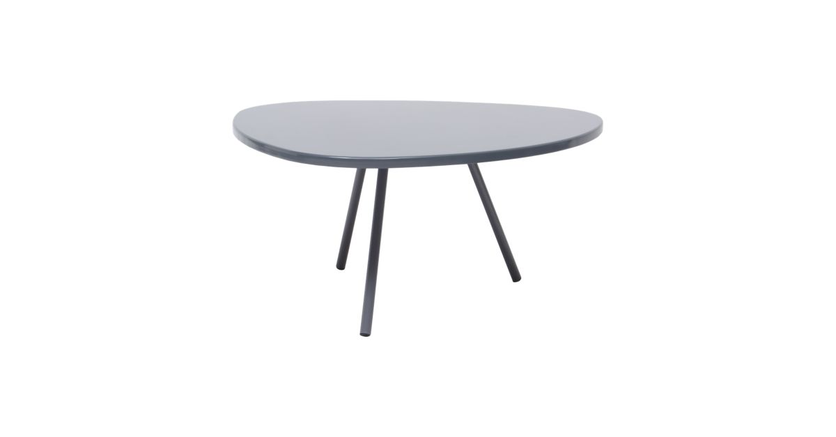 Table Basse Hauteur 28cm Taupe Mat Fly