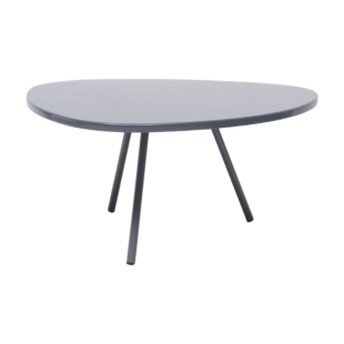 FLY-table basse hauteur 28cm taupe mat