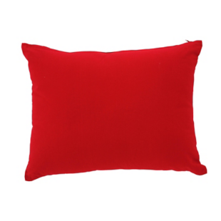 FLY-coussin coton 35x45 rouge