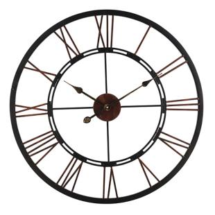 FLY-horloge en fer d70.5cm noir