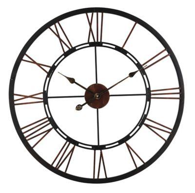 Interesting flyhorloge en fer dcm noir with horloge couverts for Horloge couvert