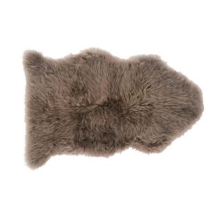 FLY-tapis laine peau de mouton 75x110 taupe