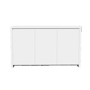 FLY-bahut bas 3 portes laque blanc