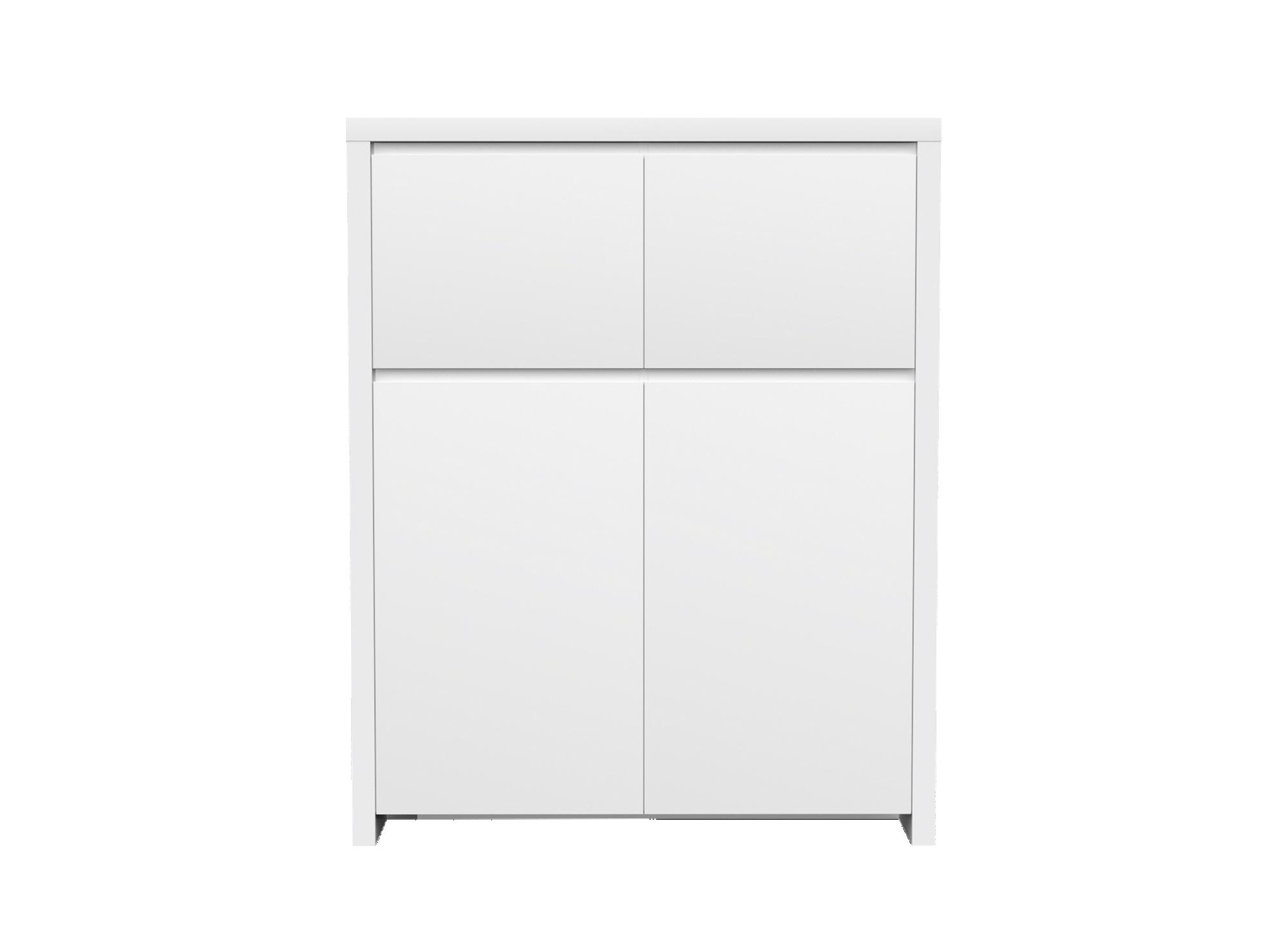 Rangement avec 2 petites et 2 grandes portes structure en panneau al ...
