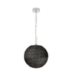 FLY-suspension boule diametre 35cm chocolat