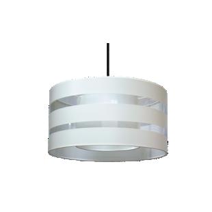 FLY-abat jour diametre 45 cm coloris blanc