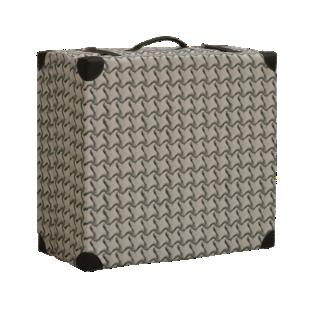 FLY-lit d'appoint coloris gris 3d/coins pu noir