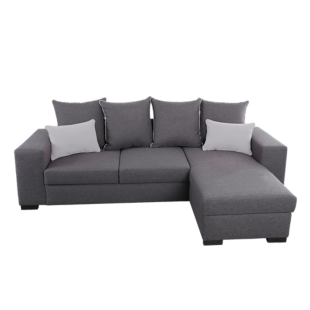 FLY-angle convertible reversible tissu coloris gris
