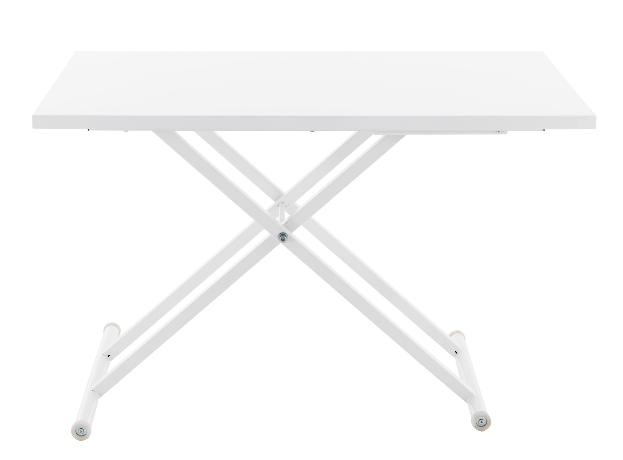 Table ascenseur blanc meuble fly for Meuble acier fly