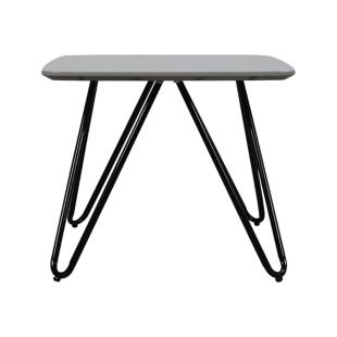 FLY-table basse plateau 50x50 cm gris