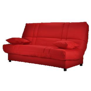 FLY-banquette type bl avec 2 coussins rouge