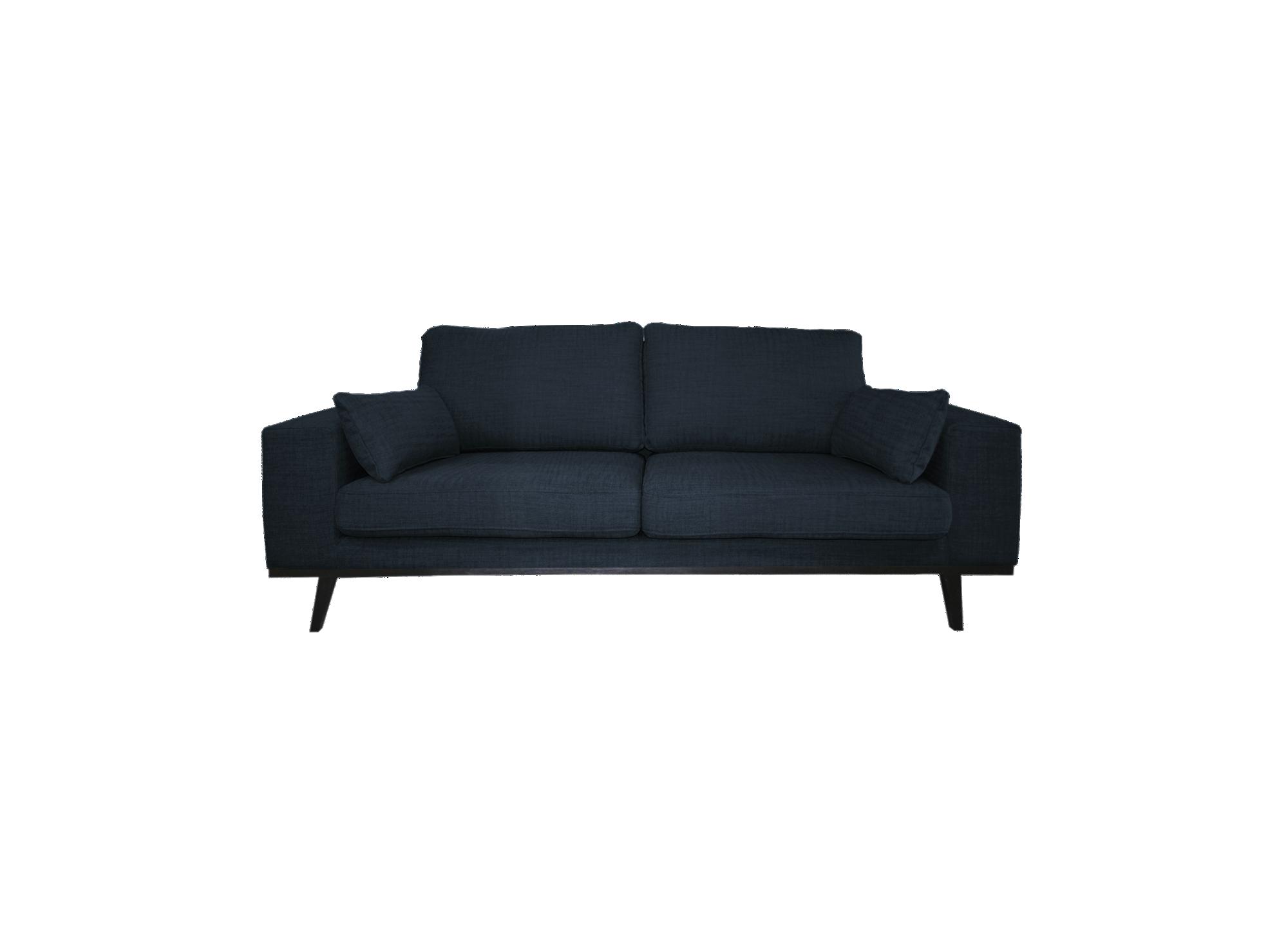 canape fixe 2 places tissu bleu canap fixe cat gories canap fly. Black Bedroom Furniture Sets. Home Design Ideas