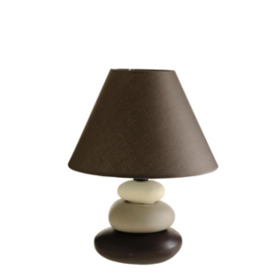 FLY-lampe h26cm taupe