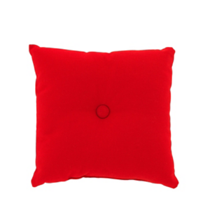 FLY-coussin coton 30x30 rouge