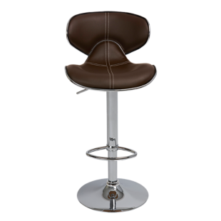 FLY-tabouret de bar assise pu choco