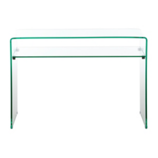 FLY-table console 1 tablette verre