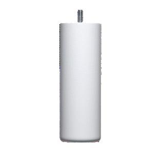 FLY-jeu de 4 pieds cylindre d62 h19cm blanc