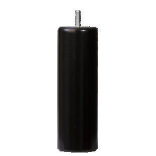 FLY-jeu de 4 pieds cylindre d62 h19cm noir